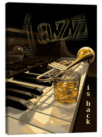 Canvas print  Jazz is back - colosseum