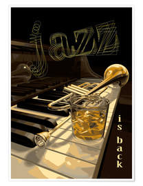 Premium poster  Jazz is back - colosseum
