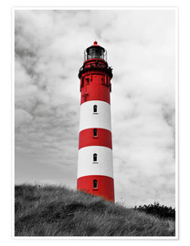Premium poster  Lighthouse in Amrum, Germany - HADYPHOTO