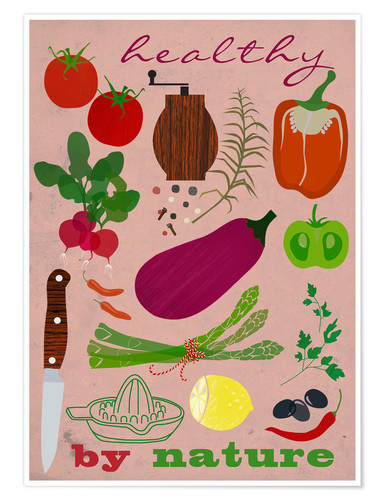 Premium poster Healthy by nature II