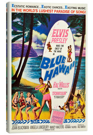 Canvas print  Blue Hawaii