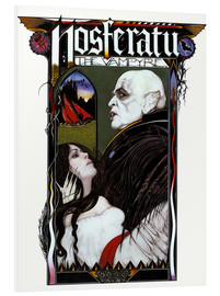 Foam board print  NOSFERATU: PHANTOM OF THE NIGHT