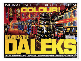 Premium poster  DR. WHO AND THE DALEKS