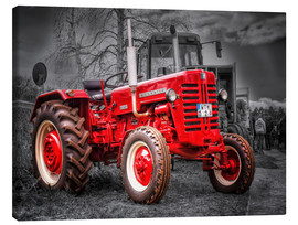 Canvas print  McCormick Tractor - Peter Roder