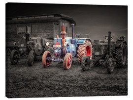 Canvas print  Lanz Bulldog tractor Oldtimer - Peter Roder