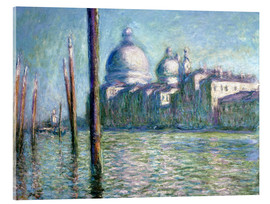 Acrylic print  The Grand Canal - Claude Monet