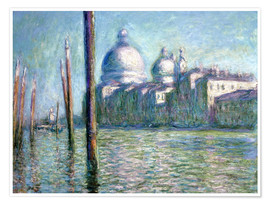 Premium poster  The Grand Canal - Claude Monet