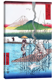 Canvas print  The Sagami River - Utagawa Hiroshige