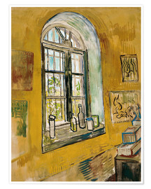 Premium poster  Window in the Studio - Vincent van Gogh