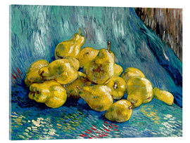 Acrylic print  Still Life with Quinces - Vincent van Gogh