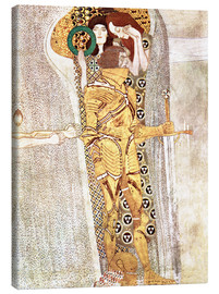 Canvas print  The Knight - Gustav Klimt