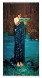 Premium poster  Circe invidiosa - John William Waterhouse