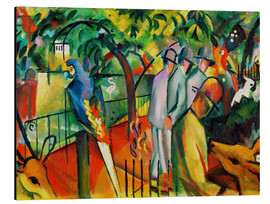 Aluminium print  Zoological garden - August Macke