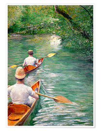 Premium poster Paddle boats