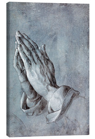 Canvas print  Study of the apostle's hands - Albrecht Dürer