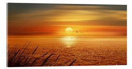 Acrylic print  Sunset Over The Ocean - Monika Jüngling