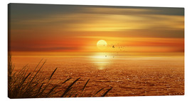 Canvas print  Sunset Over The Ocean - Monika Jüngling
