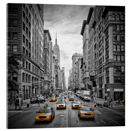 Acrylic print  NEW YORK CITY 5th Avenue Traffic - Melanie Viola