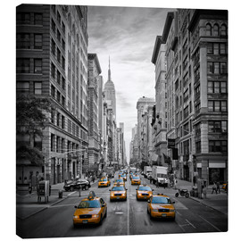 Canvas print  New York City, 5th Avenue Traffic - Melanie Viola