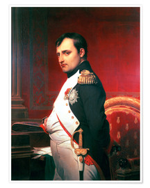 Premium poster Napoleon in his Study