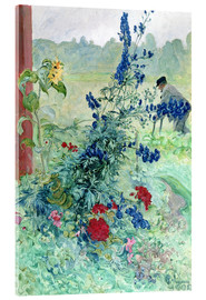 Acrylic print  The Grandfather - Carl Larsson
