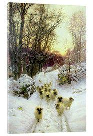 Acrylic print  The Sun Had Closed the Winter's Day - Joseph Farquharson