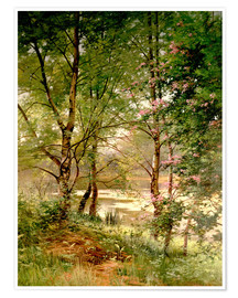 Premium poster  In the fairytale forest - Ernest Parton