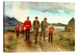 Canvas print  'Listed for the Connaught Rangers': Recruiting in Ireland, 1878 - Lady Butler