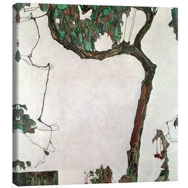 Canvas print  Autumn tree - Egon Schiele