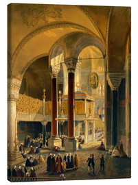 Canvas print  Haghia Sophia, Imperial Gallery and Box - Gaspard Fossati