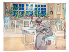 Acrylic print  The Evening Before the Journey to England - Carl Larsson