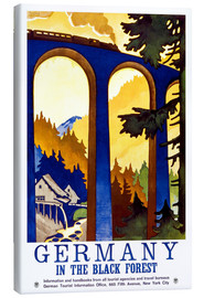 Canvas print  Black Forest, Germany - Travel Collection