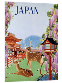 Foam board print  Vintage Japan tourism - Travel Collection