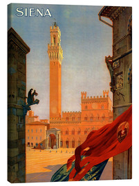 Canvas print  Siena in Tuscany, Italy - Travel Collection