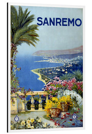 Aluminium print  Sanremo, Italy - Travel Collection