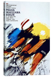 Canvas print  Races, Prague - Warsaw - Berlin - Advertising Collection