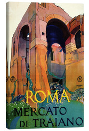 Canvas print  Italy - Rome, Mercato Di Traiano - Travel Collection