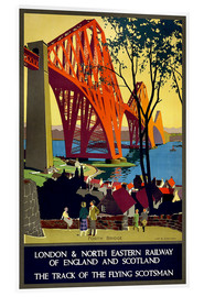 Acrylic print  Forth Bridge London Railway - Travel Collection
