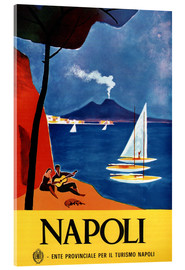 Acrylic print  Naples, Italy - Travel Collection