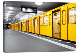 Canvas print  Berlin Subway U Bahn - bildpics