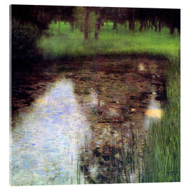 Acrylic print  The swamp - Gustav Klimt