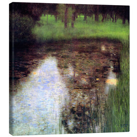 Canvas print  The swamp - Gustav Klimt