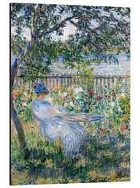 Aluminium print  La Terrasse (The Terrace) - Claude Monet