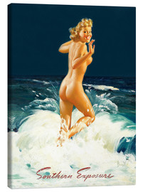 Canvas print  Pin Up - Southern Exposure - Al Buell
