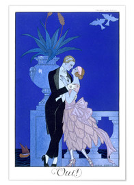 Premium poster  Yes! 1921 - Georges Barbier