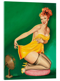 Acrylic print  How to Tickle A Gal's Fancy - Peter Driben