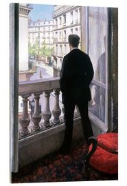 Acrylic print  Man at the Window - Gustave Caillebotte