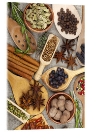 Acrylic print  Spices and Herbs II - Thomas Klee