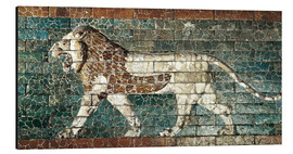 Aluminium print  Lion mosaic at the temple of Babylon