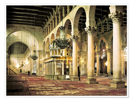 Premium poster  The Umayyad Mosque in Damascus